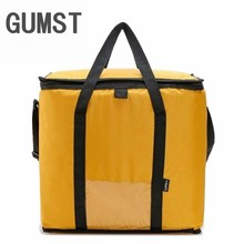 42L Cooler Bag Car ice pack picnic Large cooler bags Yellow Cool Thermo Bag ThermaBag refrigerator thermo thermal bolus thermal(China)