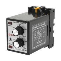 SVM A 220V AC 220V Protective Adjustable Over Under Voltage Monitoring Relay