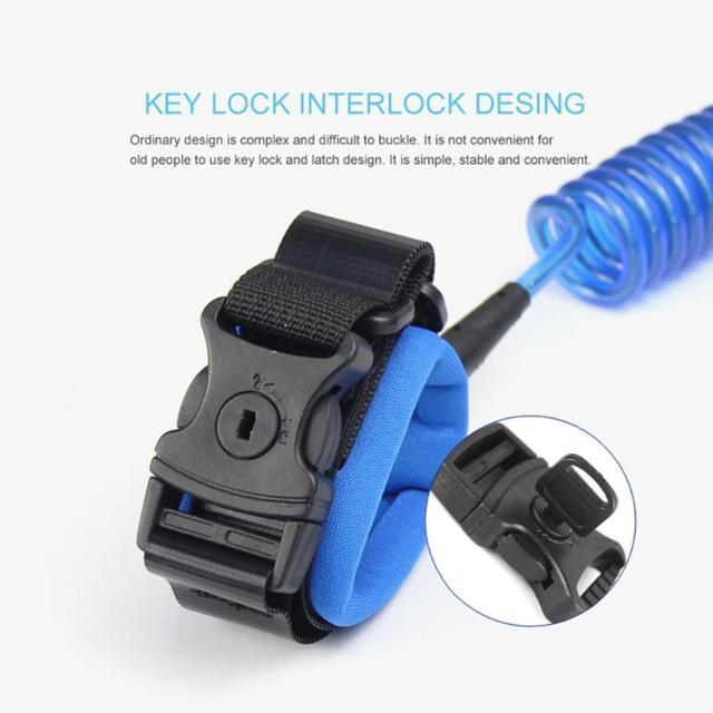 1.5/2/2.5M Kids Outdoor Walking Hand Belt Children Safety Anti Lost Wrist Link Strap Rope Parent-child Adjustable Harness Leash 5