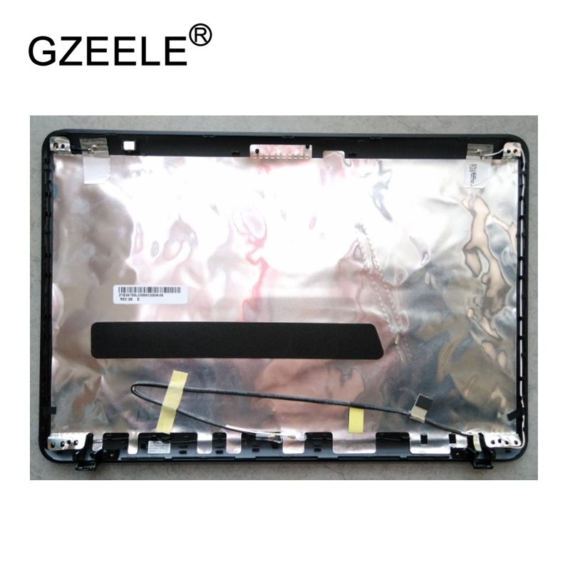 GZEELE New LCD top case Rear Display cover Assembly For TOSHIBA Satellite L700 L740 L745 back cover back shell A CASE new laptop for toshiba satellite p55t a5202 p55t a5118 lcd back top cover fit touchscreen a shell