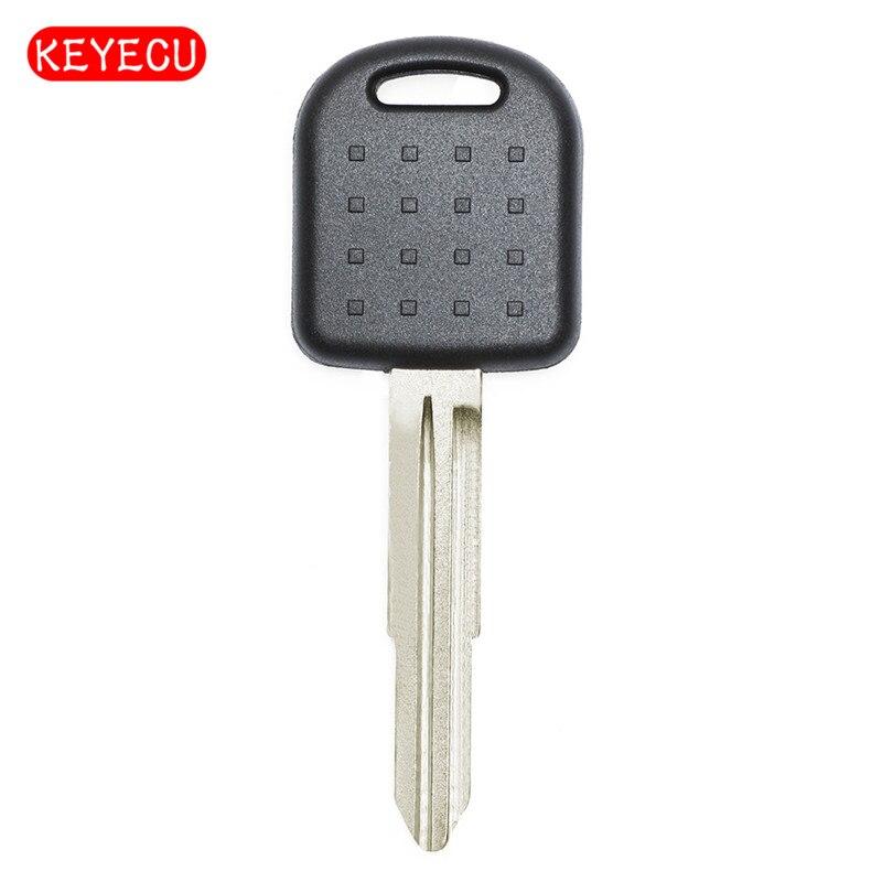 Keyecu Transponderschlüssel + Chip ID4C + Ungeschnittenes blatt für Suzuki Alto Baleno Grand Vitara Links Klinge
