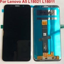 100% Original AAA คุณภาพ 5.45 สำหรับ Lenovo A5 L18021 L18011 จอแสดงผล LCD + หน้าจอสัมผัส Digitizer ASSEMBLY + เครื่องมือ