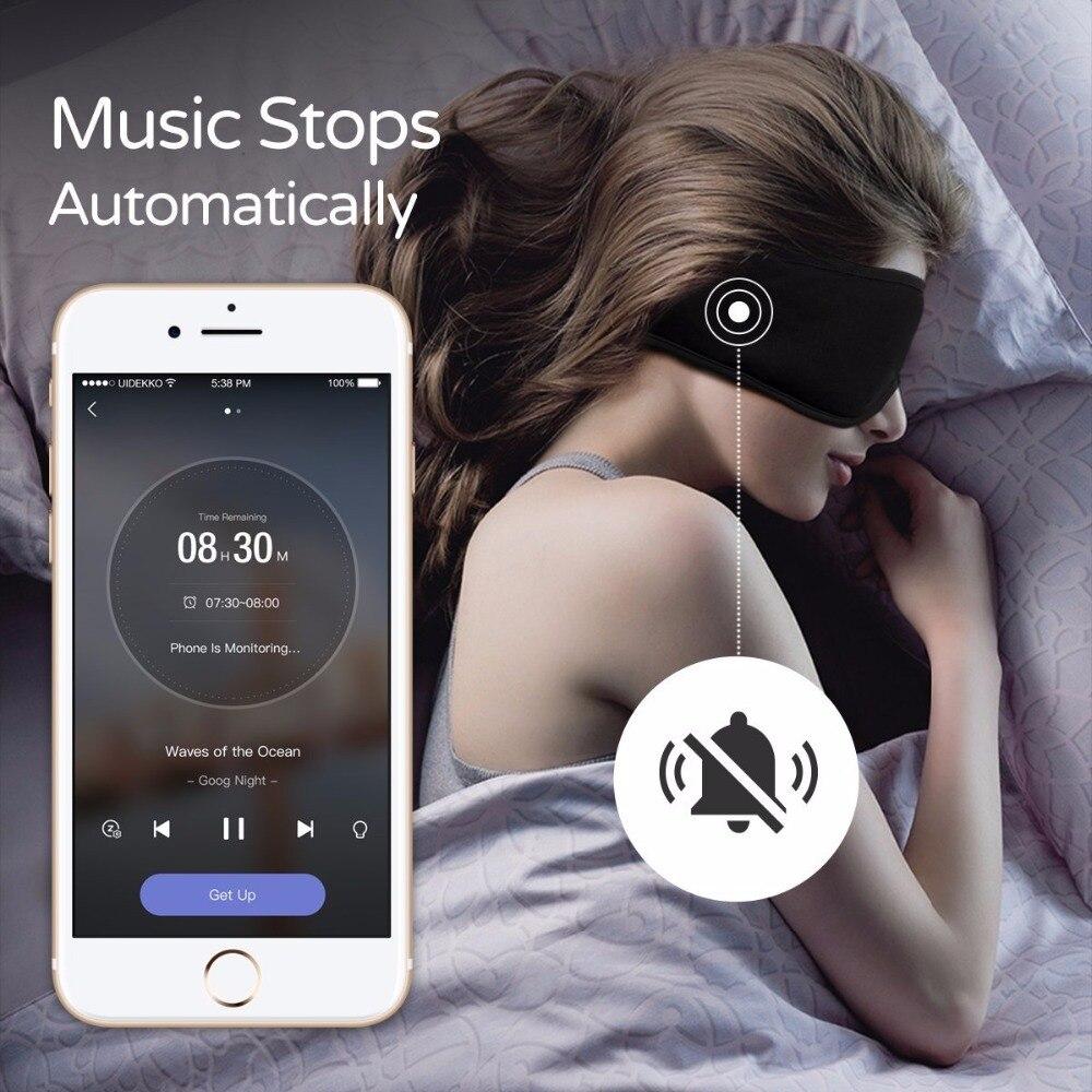 Sleepace Sleep Headphones,Comfortable Washable Eye Mask With Sound Blocking/ Noise Cancelling Earphone Smart App Remote Control
