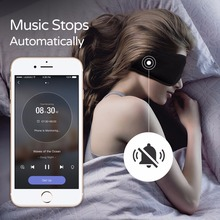 Sleepace Sleep Headphones,Comfortable Washable Eye Mask with Sound blocking/ Noise Cancelling Earphone Smart App remote control