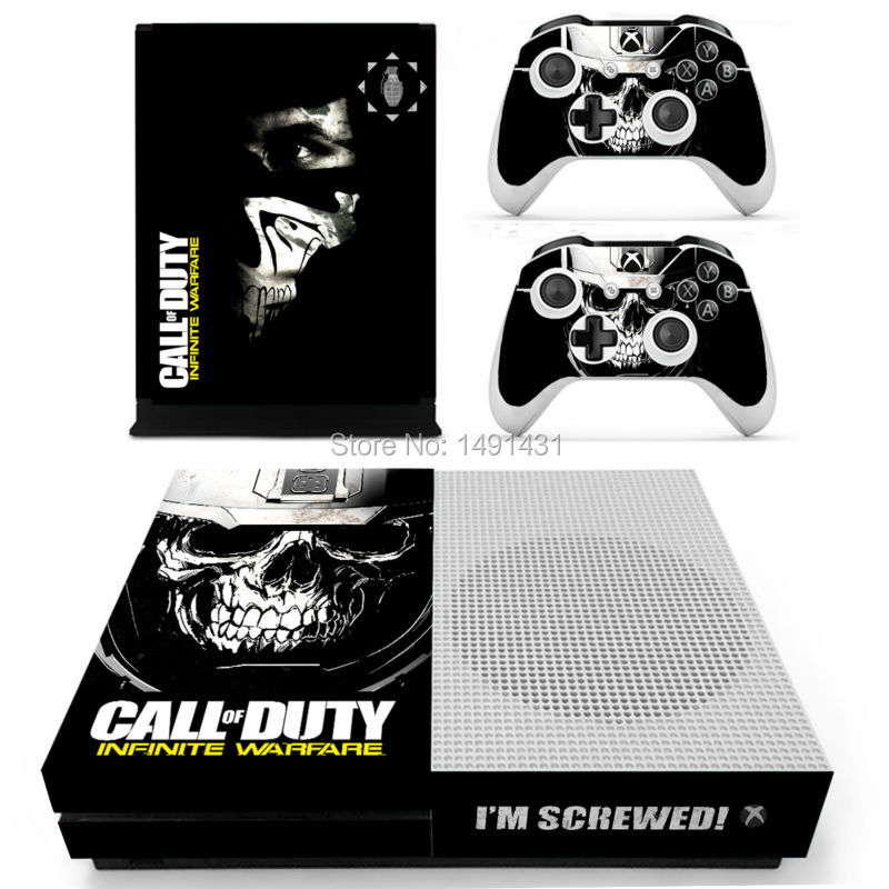 new comes vinyl decal for microsoft xbox one slim skin sticker for xbox one s 2 controller. Black Bedroom Furniture Sets. Home Design Ideas