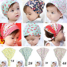 Summer Autumn Baby Hat Girl Boy Cap Children Hats Toddler Kids Hat Scarf(China)