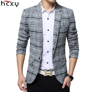 Casual Men lattice Formal Blazers