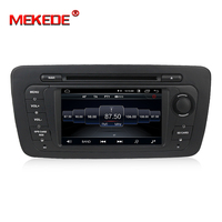 New arrival! Mekede android 8.1 Car multimedia system car GPS DVD player for Seat Ibiza 2009 2010 2011 2012 2013 wifi BT RDS FM