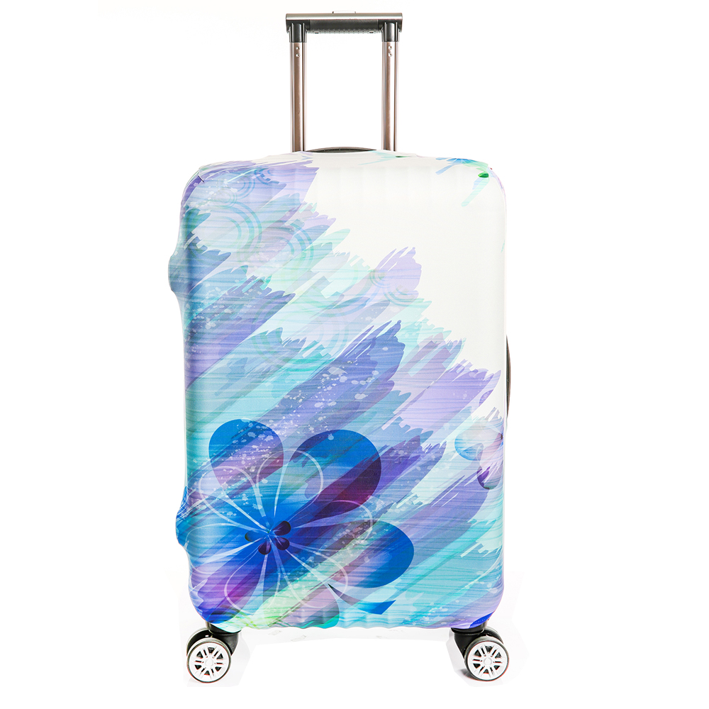 Thick Suitcase Cover Elastic Travel Cover For Suitcase Spandex Anti dust Luggage Protector Fits 18 32