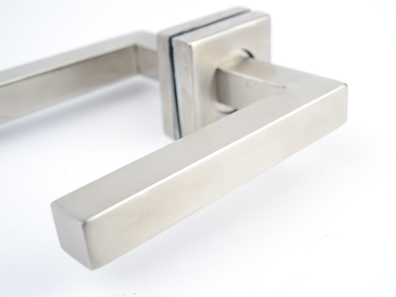 Modern Minimalist High Grade Square Door Clock Sets,Genuine SUS304  Stainless Steel, Home,door Handles Locks Sets In Handlesets From Home  Improvement On ...