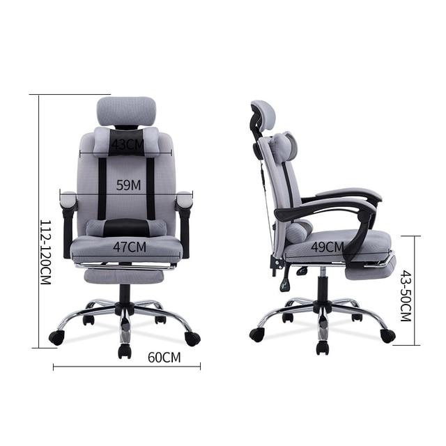 Consultar precio Alta calidad de malla Silla ordenador encaje silla ...