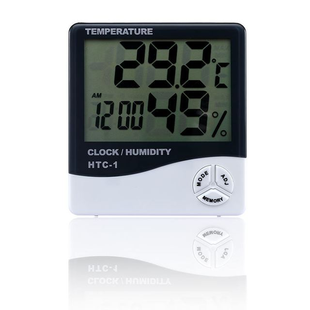 Temperature Humidity Meters Digital Thermometer Hygrometer Electronic LCD Weather Station Indoor Weather Station Indoor Outdoor