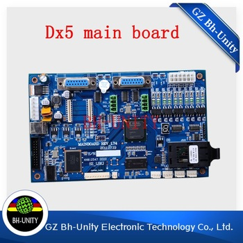 high quality  dx5 printhead  main board for  galaxy leopard digital printer spare part brand new dx5 printhead driver board for inkjet printer galaxy 1802 slovent printer spare parts