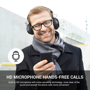Image 5 - Oneodio Trên Tai Tai Nghe Không Dây Tai Nghe Bluetooth 5.0 Thể Thao Tai Nghe Stereo Bluetooth Tai Nghe Có Mic Cho iPhone Xiaomi