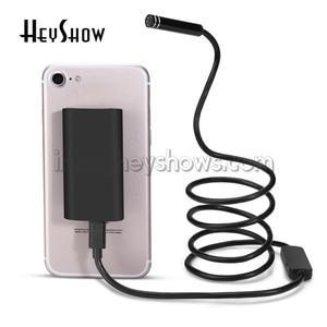 Image 4 - Lente de 8MM 8LED 720P HD cámaras de Endoscopio impermeable inspección Softwire Wifi Mini Endoscopio para Android Teléfono de Apple Windows IOS