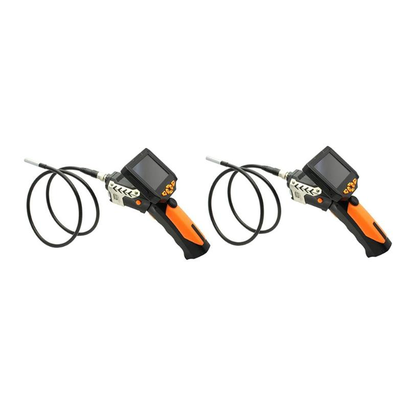 3.5in Endoscope LCD Industrial Portable Waterproof Digital Camera Video Borescope Flexible Snake Pipe Inspection Camera