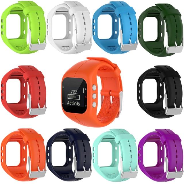 0a398d200c8d Reemplazo de pulsera de correa de muñeca de silicona para reloj de pulsera  de rastreador Polar A300