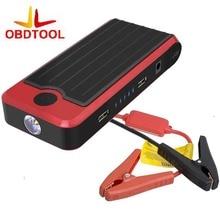 12000 MAH Coche Salto de Arranque de Alimentación De Emergencia Del Coche 2 USB Cargador de Emergencia de Energía de Refuerzo con LED y Caja De Plástico LR15