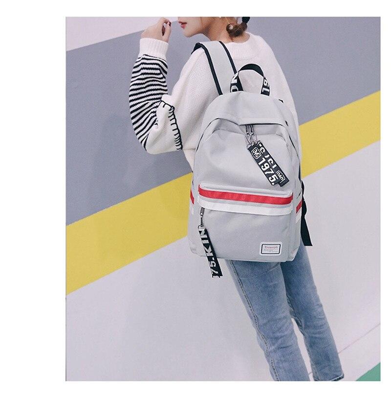 2018 popular school backbags hot travel backpack High capacity light weight shoulder bag for fashion women