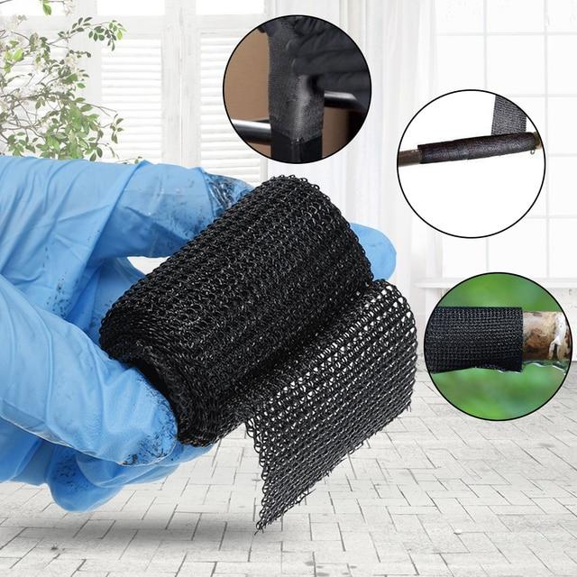 Home DIY Fiber Fix Wrap Adhesive Tape Sealers Black Strong Adhesive Household Repair Tools For Repairing Pipeline Table Foot 1