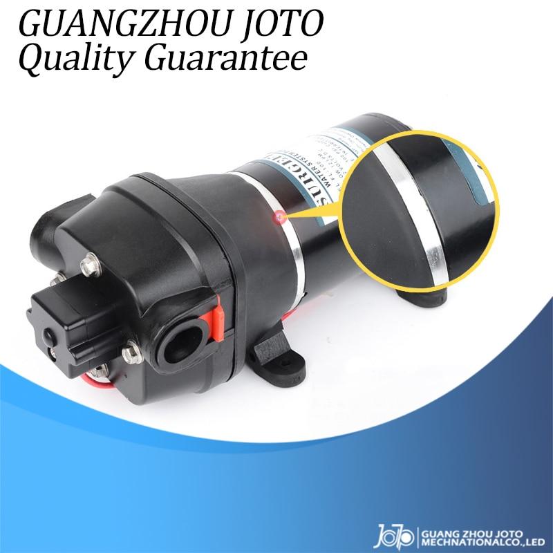 FL 100 Home Car Wash Pump 12V/24V DC Power Water Supply Booster Water Pump