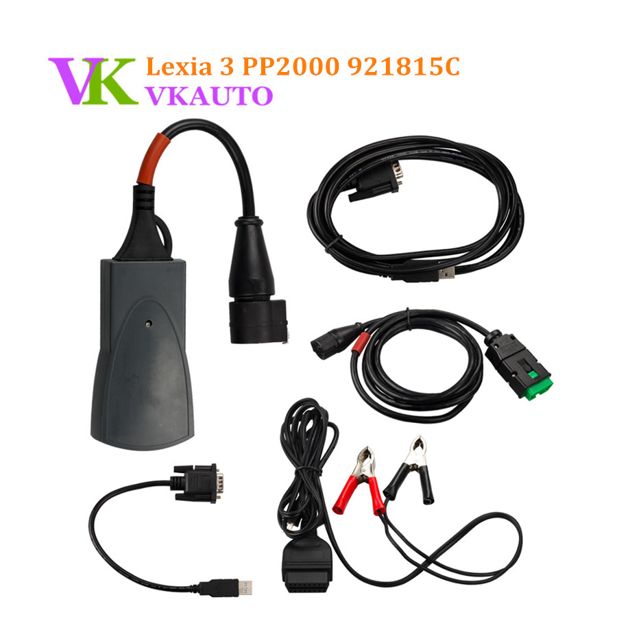 Best Lexia 3 Lexia3 PP2000 Full Chip PSA XS Evolution With Diagbox V7.76 Diagnostic Interface Free Shipping все цены