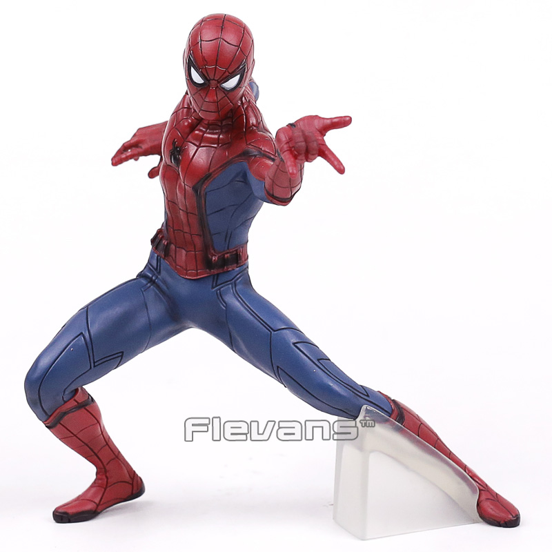 Spider Man Homecoming Spiderman / Iron Man MK47 PVC Figure Collectible Model Toy with Retail Box 2 Styles
