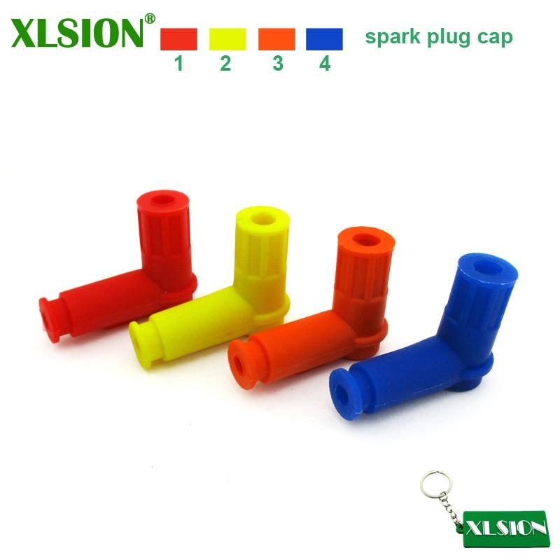 XLSION колпачок свечей зажигания для 50cc 110cc 125cc 140cc 150cc 160cc 200cc 250cc питбайк Quad ATV багги картинг мопед скутер