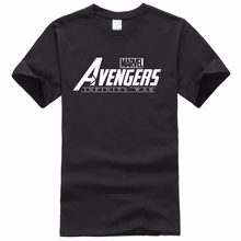 2018 New Casual MARVEL t-Shirt men and women cotton short sleeves Casual male tshirt marvel t shirts men tops tees Free shippin(China)