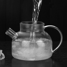 500ml Transparent Glass Teapot With Double Wall Glass Kungfu Tea Cup Home Office Flower Teapot Kettle Drinkware Gift Teaware Set