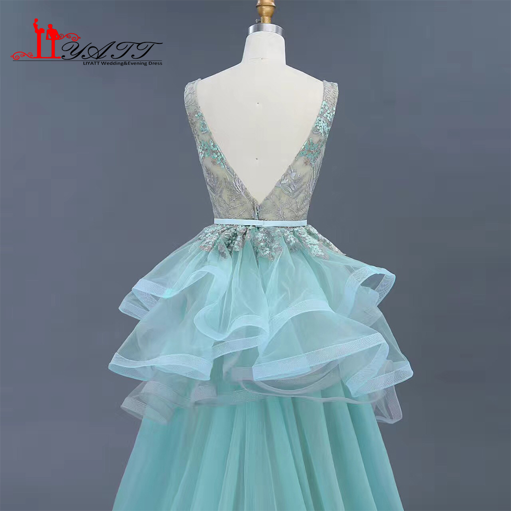 2017 Cheap Evening Prom Dresses Detachable Train Elegant Amazing ...