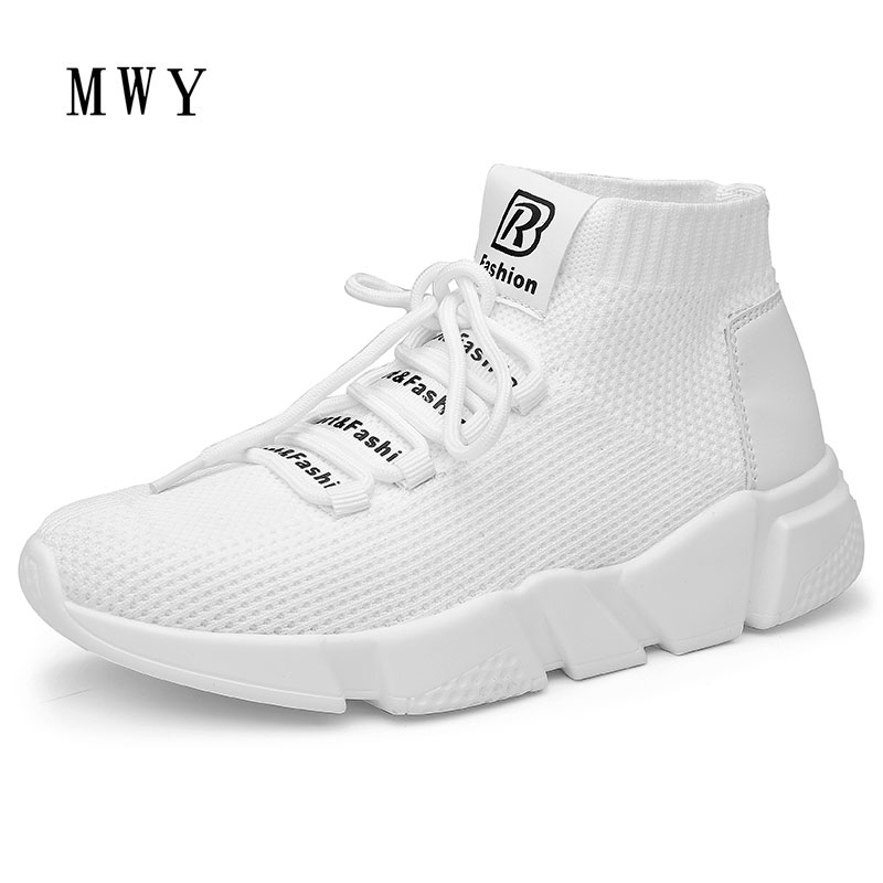 MWY Summer Soft Bottom Flexible Sock Ankle Shoes Women Breathable Stretch Fabric Socks S ...