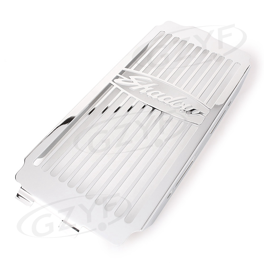 Motorcycle Cooler Radiator Grille Grill Cover Guard Protector For Honda Shadow VT750 C2 1998-2003 /Spirit 2001-2008 Stainless