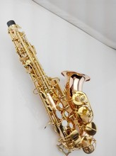 2017 new phosphor bronze coppre saxophone children bend saxophone B SALMER54 musical instruments professional