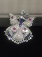 Accessories Top quality fashion brooch pendant double use fairy butterly brooch