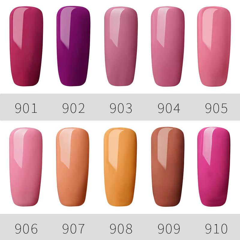 Top Selling 5 ML Gail Nail Polish Cosmetics Long Lasting Soak Off UV Nail Polis Painting Gel Red Gray Nude 120 Colors Nail Art