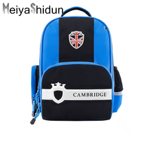 Meiyashidun New Brand Orthopedic Children Backpacks School Bag Kids backpack For Teenagers Boys Girls SchoolBag mochilas escolar