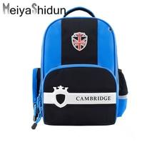 Meiyashidun New Brand Orthopedic Children Backpacks School Bag Kids backpack For Teenagers Boys Girls SchoolBag mochilas escolar