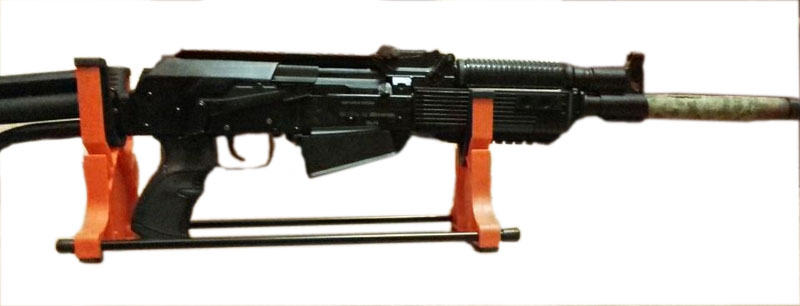 tiro arma smith banco resto suporte rifle