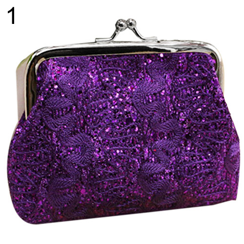 Women Lace Flower Wallet Card Holder Coin Purse Clutch Handbag Buckle Mini Bag womens wallet card holder coin purse clutch bag handbag lightweight portable and fashionable with famous brand