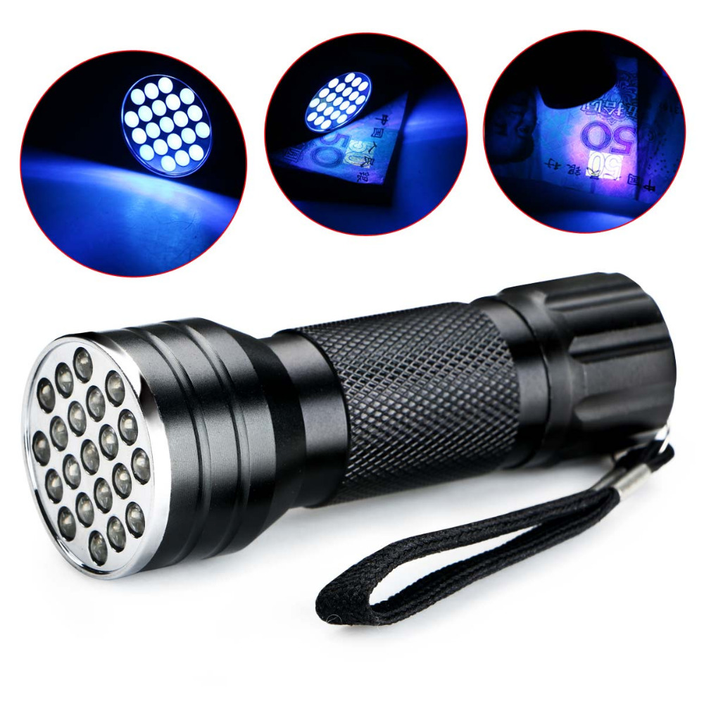 Led Lighting Lights & Lighting Considerate New Uv Ultra Violet 21 Led 395nm Flashlight Mini Blacklight Aluminum Torch Lamp For 3xaaa Batteries To Win A High Admiration And Is Widely Trusted At Home And Abroad.