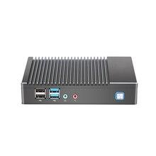 Mini PC Fanless AMD A6 1450 Quad-core Windows Win10 Linux Gaming Computer WIFI HDMI HTPC DDR3L Factory wholesale Desktop Minipc