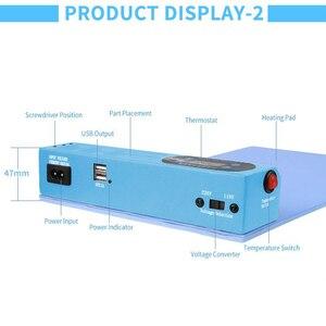 Image 5 - Nuove Uscite Schermo LCD Spearator Piastra di Riscaldamento Con Porta USB per IP iPad Macchina di Apertura Dello Schermo A CRISTALLI LIQUIDI Del Telefono Mobile