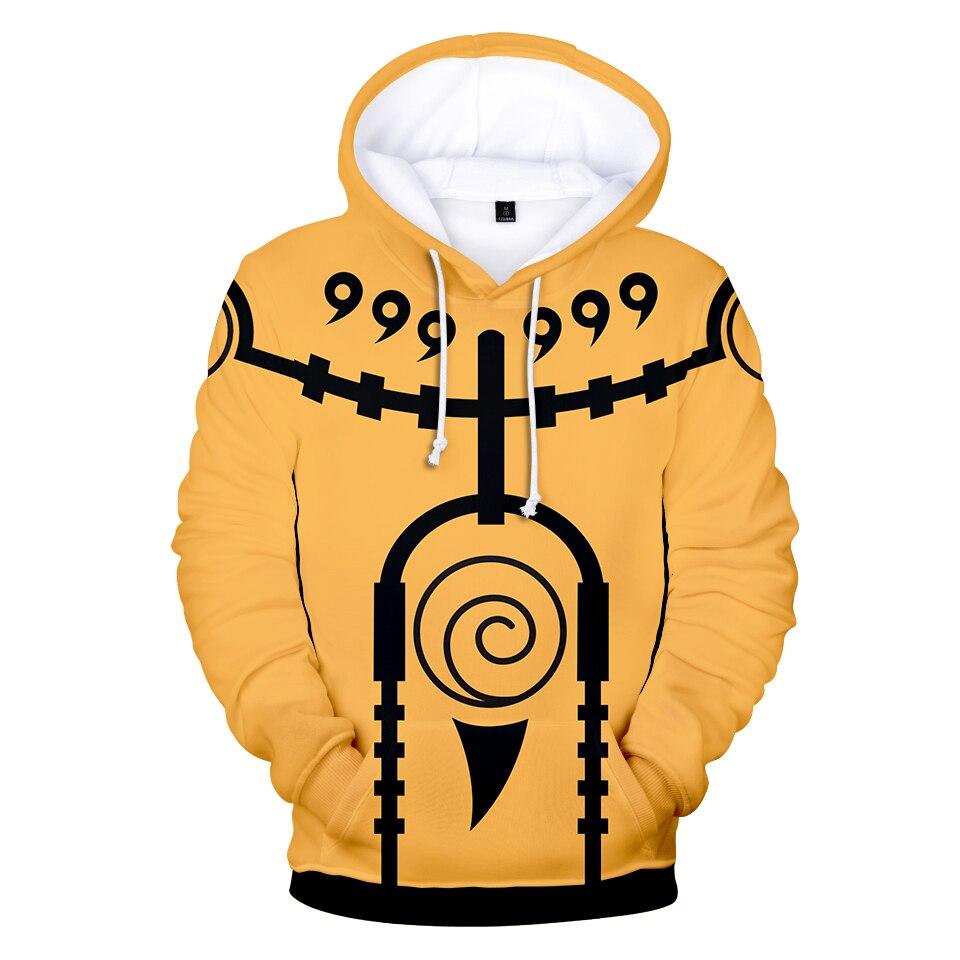 Naruto 3D Aikooki Hot sale Hoodies Men Women Casual Autumn Sweatshirts Fashion Hooded Anime Naruto 3D Hoodies Mens Clothing XXS 1