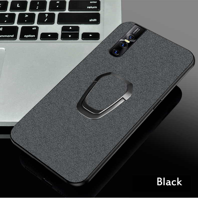 vivo v15 pro Case Magnetic Car Holder Ring CBumper Back Cover cases For vivo v15