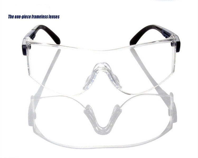 3m 10196 Protective Eyewear Clear Anti-fog Lens Windproof Sand Laboratory Safety Matching In Colour Glasses, Goggles & Shields