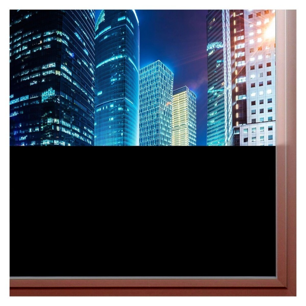 60*400 Cm Opaque Matte Blackout Privacy Window Film Vinyl Decorative Decal For Bathroom Home Office Diy Easy To Install Back To Search Resultshome & Garden Home Decor