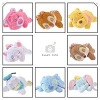 50CM Lying Sleeping Stitch Chip Dale Marie Cat Daisy Donald Duck Dumbo Bear Stuffed Animals Plush Toy for Children