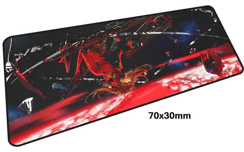 evangelion mousepad gamer 700x300X3MM gaming mouse pad large Fashion notebook pc accessories laptop padmouse ergonomic mat