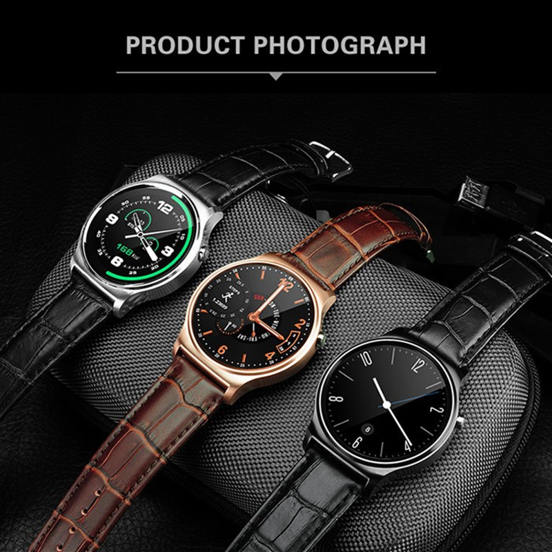 2017 new hot gw01 smart watch bluetooth 4.0 ips pieno e rotondo smartwatch per samsung gear s2 ios telefoni android pk k88h gt08 DZ09